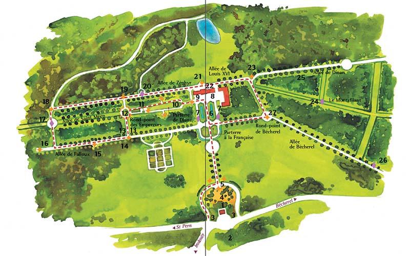 Parc De Caradeuc Decouvrir Le Parc